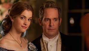 interview tom hollander on his role in itv period drama doctor tom hollander as doctor thorne and stefanie martini as mary thorne