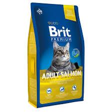 Купить со скидкой <b>Сухой корм Brit Premium</b> Adult Salmon для ...