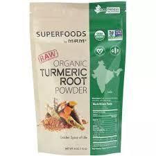 Mrm Curcumin <b>Raw Organic Turmeric Root</b> Powder