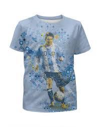"""Футболка с полной запечаткой для девочек """"<b>Месси</b>"""" #1844059 от ..."""