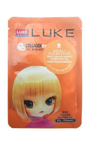 <b>Маска для лица</b> LUKE <b>Collagen</b> essence mask с коллагеном ...