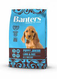 Купить со скидкой <b>Сухой корм Banters Puppy</b> Junior Lamb & Rice ...