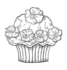 Small Picture birthday cupcake coloring pages 6 httpbirthday cake pictures