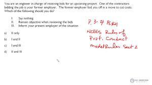 civil fe exam ethics professional practice layed off ethics civil fe exam ethics professional practice layed off ethics question