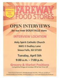 news open interviews sioux falls job opportunity news open interviews sioux falls job opportunity fareway