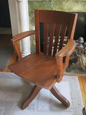 oak antique 1920s swivel wood desk arm chair antique swivel office chair