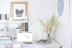 chic home office inspiration chic office desk