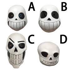 Night Light 4 Types Undertale Sans Skull Mask <b>Halloween</b> ...