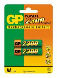 Купить <b>Аккумулятор GP 230AAHC</b>-CR2, <b>AA</b>, 1.2V 2.3Ah 2шт. в ...