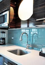 backsplash ideas light blue subway tile
