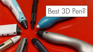 original smaffox 3d pen with 18 colors 54 meter filament printer pens lcd display artist drawing molding