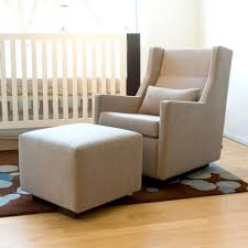 baby nursery rockers lovely baby room decor with cream glider chair plus square foot stool baby nursery rockers rustic