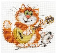 Алиса Набор для вышивания <b>крестиком</b> Лейся, песня! <b>14</b> х 13 см ...