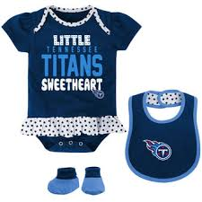 NFL Tennessee Titans <b>Baby Rompers Newborn</b> & Infant - NFLShop ...