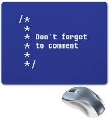 <b>Коврик для мышки</b> Не забывай комментировать код #1811697 от ...