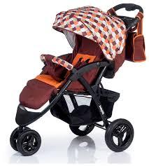 Купить <b>Прогулочная коляска Babyhit Voyage</b> Air коричневый ...