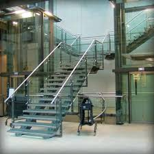 bespoke office staircase steel glass bespoke staircase bespoke glass staircase