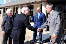 u s department of defense photo essay president george h w bush right greets defense secretary robert m gates in college