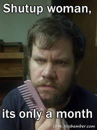 noshemberinas | No Shave November via Relatably.com
