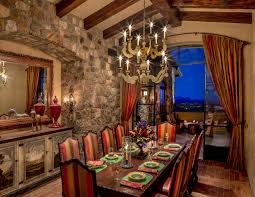 Tuscan Dining Room Uda Traditional Dining Room Black Bathroom Tiles Tile Designs