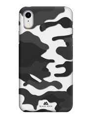 <b>Чехол</b> iPhone XR полупрозрачный, камуфляжный <b>Black Rock</b> ...