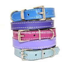 Custom Color Genuine Soft Leather Small <b>Dog Collar</b> Handmade ...