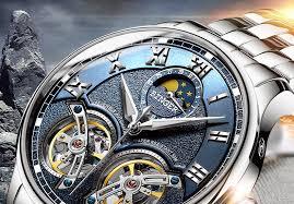 Double <b>Tourbillon</b> Switzerland <b>men</b> Watches BINGER Automatic ...