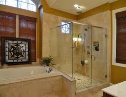layouts walk shower ideas: chrome round wall mounted double shower head with luxury walk in showers
