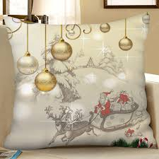<b>Christmas Decoration Digital Printing</b> Square Pillow Case Sofa ...