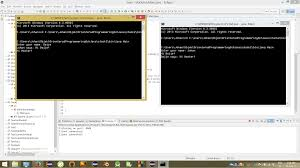 netbeans exampels on a server client chat applikation on java enter image description here