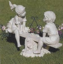 garden lawn decor statues statue  statue