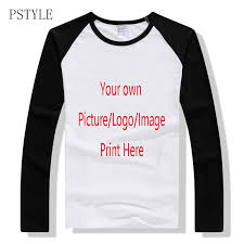 <b>PSTYLE custom t shirts</b> Print Your Own Design logo/picture /letters ...