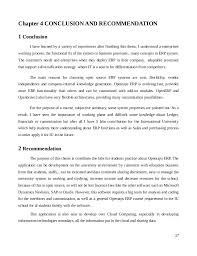 Sample of conclusion and recommendation for thesis FC