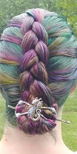 Mermaid hair!  Athena, the seahorse <b>flexi</b> clip is perfect for this ...