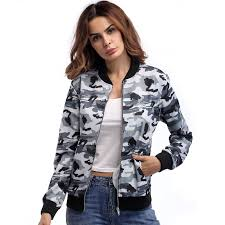 <b>Jacket 2019 spring</b> dress new women's coat camouflage suit fashion ...