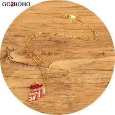 <b>Go2boho</b> Dropshipping New Gold Chain Necklace <b>MIYUKI</b> Boho ...