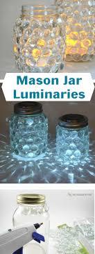 jar crafts home easy diy:  lightly luminescent illumination  diy mason jar crafts homebnc