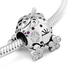 <b>CKK</b> DIY Fits for Pandora Charms Bracelets 100% <b>925 Sterling</b> ...