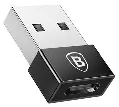 адаптер <b>Baseus Exquisite</b> USB Male to <b>Type</b>-<b>C</b> Female Adapter ...
