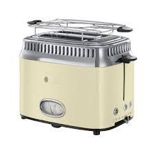 <b>RUSSELL HOBBS Retro Vintage</b> Cream Toaster (<b>21682-56</b>) ab ...