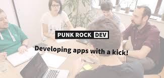 <b>Punk Rock</b> Dev – Developing apps with a kick!