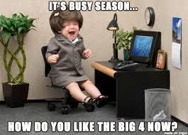 Public Accounting Busy Season - Meme on Imgur via Relatably.com