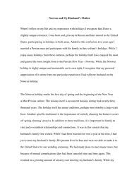 nowruz and my husbands mother english essay   studentshare nowruz and my husbands mother essay example
