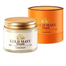 Кремы дневные <b>Крем для лица</b> Berrisom <b>Gold</b> Mayu Cream, 70 гр.