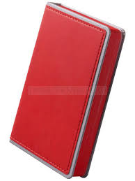 <b>Ежедневник</b> FreeNote Small, <b>недатированный</b>, красный «Адъютант