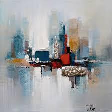 Romance II- Decor in <b>Abstract</b> Paintings, <b>Modern Hand Painted</b> ...