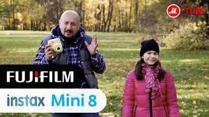 Видеообзор <b>фотоаппарата</b> мгновенной печати <b>Fujifilm Instax mini</b> 8