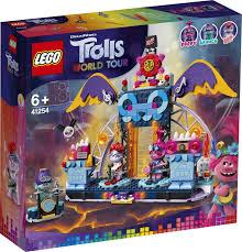 <b>Конструктор LEGO Trolls</b> 41254 <b>Концерт</b> в городе Рок-на-Вулкане