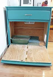 beforeafter litterbox unusually lovely turn an old dresser into a cabinet for the litter cat litter cabinet diy