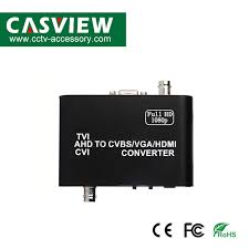 China <b>Tvi</b>/<b>Ahd</b>/<b>Cvi</b> to <b>CVBS</b>/ <b>VGA</b>/ <b>HDMI Converter</b> Support 1080P ...